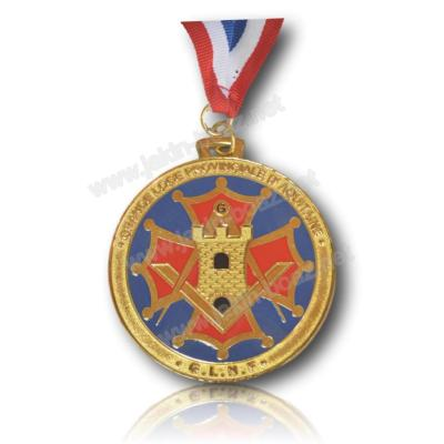 Creation Médaille de Loge 60 mm medaille en photo est un exemple  pas à la vente